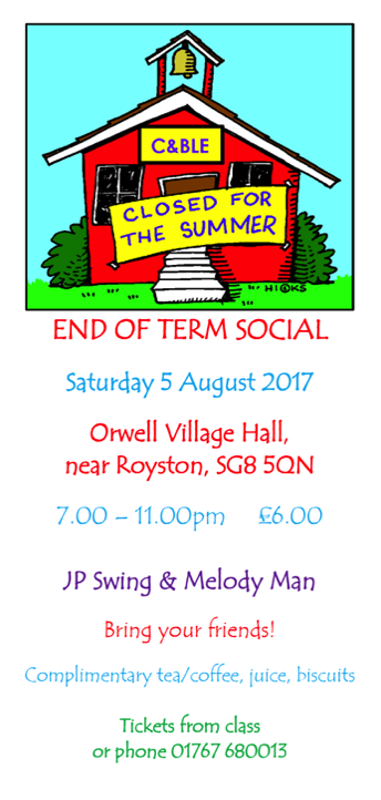 End of term social